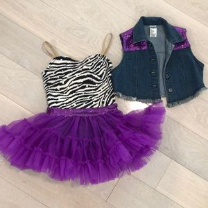 Other - Girls dress & vest.  Sz 5.  Perfect condition.